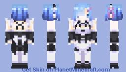Re:Zero  Rem Minecraft Skin
