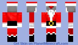 Santa bot Minecraft Skin