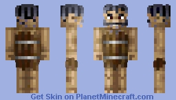 Loser cowboy; has lost in the poker (7 th Place!) Minecraft Skin