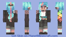 I'm Glad you (Repeat) Me // Kari Contest Entry Minecraft Skin
