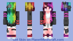 When She Cries~ [ST] Minecraft Skin