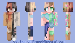 I literally couldn't decide on a season [CE] Minecraft Skin