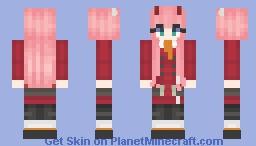 darling in the franxx ~ 002 Minecraft Skin