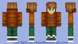 My New Skin / New Shading test Minecraft Skin