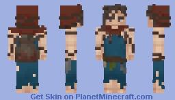 Slavi Witch Minecraft Skin