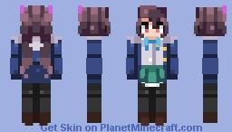 Tsubuzaki Anko   Request Minecraft Skin