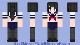 This Little Girl is Capable of Murder | Yandere~chan Minecraft Skin