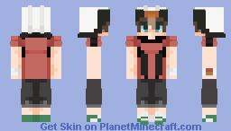 its the hoenn boi himself Brendan Minecraft Skin