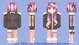 I was too Sleepy.... Minecraft Skin