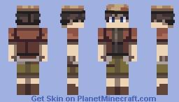 Mirai Nikki- Yukiteru Amano Minecraft Skin
