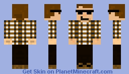 34486, Sunglasses Minecraft Skin