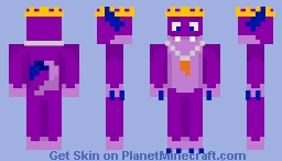 Prince Blake the monster (for LolYo's skin contest) Minecraft Skin