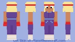OK K.O. - Carol Minecraft Skin