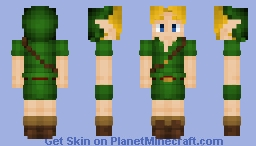 Link ~ Zelda Majora's Mask Minecraft