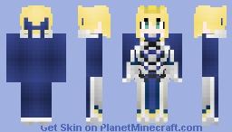 (Fate/Skin) Altria Pendragon Skin Minecraft Skin