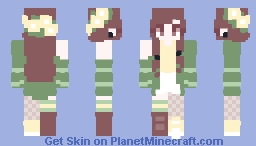 closing walls and ticking clocks | contest Minecraft Skin