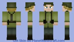 WW2 - Wehrmacht Soldier Minecraft Skin