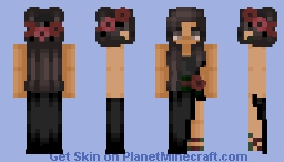 Gucci Floral Dress Minecraft Skin