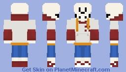 TS!Underswap Papyrus Minecraft Skin