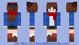 ST with Relief - 100 subs raffle Minecraft Skin