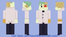 OK K.O. - Lord Boxman Minecraft Skin