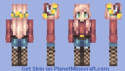 So happy without your noise Minecraft Skin