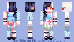 "⊗ [Chabilulu] ⊗ ""The greatest masterpieces were only once pigments on a palette"" [CE] Caelchan's contest⊗ Minecraft Skin"
