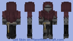 Mysterious Knight Minecraft Skin