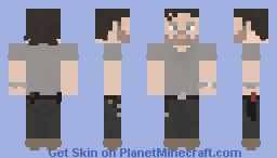 Rick Grimes | The Walking Dead | 5x07 Minecraft