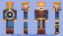 Shield-maiden Minecraft Skin