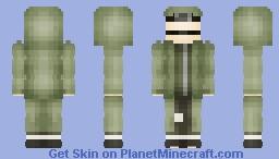 Shino Aburame, 17 age [Fourth Great Shinobi War] Minecraft Skin