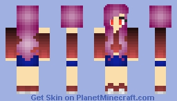 Off The Shoulder Minecraft Skin