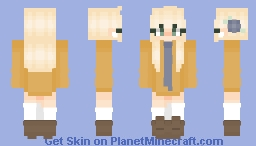 🌼~Normal 16years Girl - By Zoé-Chan~💻 Minecraft Skin