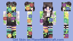Let your colours bloom || Contest entry Minecraft Skin