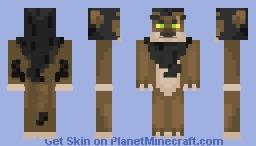 ~Scar~ {Lion King} (REMAKE) Minecraft Skin