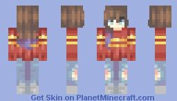 ♥мαηgℓє∂♥ Skin Trade w/ Macoroonie Minecraft Skin
