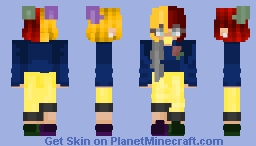 Quote Me Not || [CE] Minecraft Skin