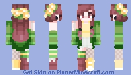 i dont know what to put here Minecraft Skin