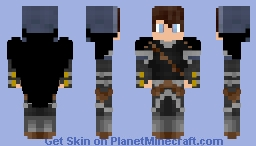 Smart Kid in Armor Minecraft Skin
