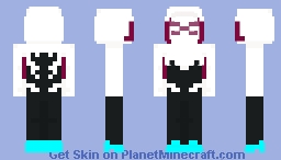 Spider-Gwen - Marvel Minecraft Skin