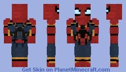 Spider-Man ( MCU ) ( INFINITY WAR ) Minecraft