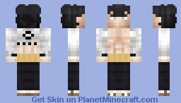 Tenjirō Kirinji Minecraft Skin