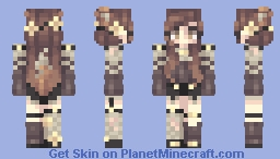 "♥L3Δ♥ ~ ""Tcheu ste panthère"" Minecraft Skin"