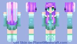 ~✿~𝕾𝖙𝕷𝖊𝖊 ~✿~ Unwanted || New OC || LyLac Minecraft Skin