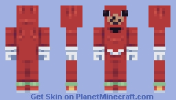do u no de wae (Ugandan Knuckles) Minecraft Skin