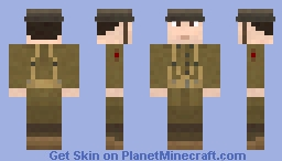 First World War US AEF Rifleman WWI Minecraft Skin
