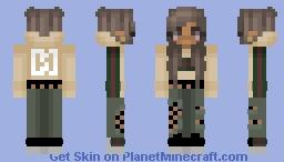 Gucci Yellow Hoodie Minecraft Skin