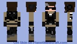 Zofia  [rainbow six siege minecraft skin] white noise Minecraft Skin