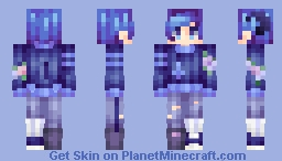 violets | ✿ | fs Minecraft Skin