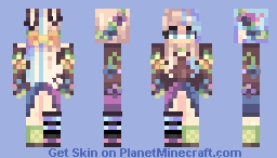 Floral Fields (Remake) Minecraft Skin